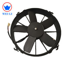 China 2018 auto cooling system 12/24V DC motor condenser fan supplier