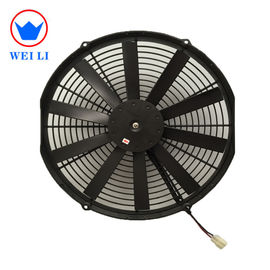 China Bus Air Conditioning Parts, 24v/12v Electric Radiator Fan For Universal Bus supplier
