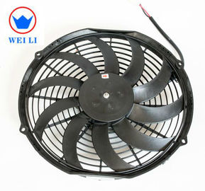 China Bus Low Noise Centrifugal Fan , 12V/24V DC Brush Ultra Thin Electric Radiator Fan  supplier