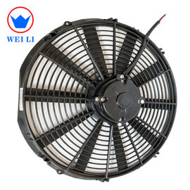 China 16 Inch DC Brushed 12 Volt Cooling Fan , 2700RPM 12v DC Fan With Custom Logo supplier